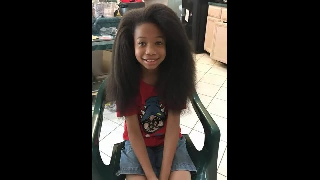 """10-Year-Old Kid Spends Two Years Growing His Hair To Make Wigs For Cancer Patients """