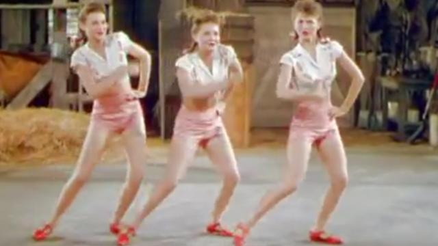 3 women sing about potato salad. Seconds later, their bodies move in ways others can't.