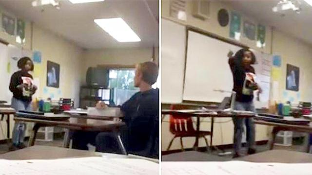 Mom says teen daughter is being bullied, barges into classroom to confront students face-to-face