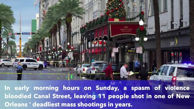 11 injured after gunman attacks in Democrat-Controlled New Orleans