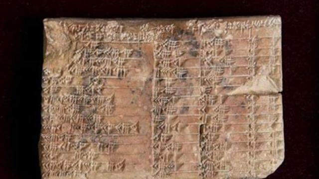 A 3,700-year-old mysterious Babylonian tablet is translated