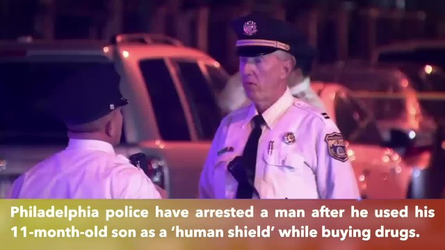 Philadelphia father allegedly used 11-month-old son as human shield during shooting