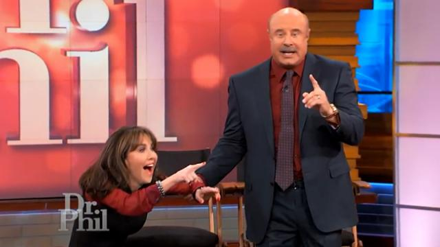 Dr. Phil has wife of 39 years ditch her seat after secretly booking their son as musical guest