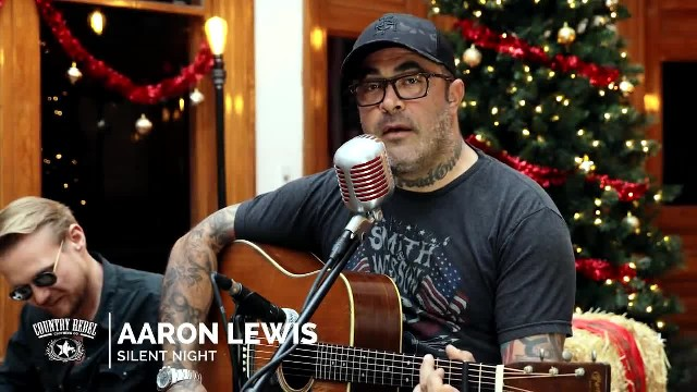 "AARON LEWIS BREATHES NEW LIFE INTO CENTURIES-OLD ""SILENT NIGHT"""