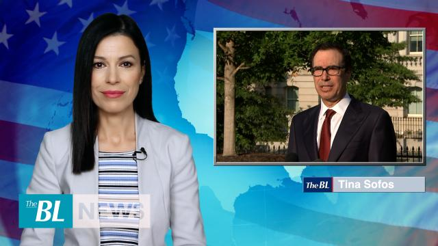 US Treasury Secretary Mnuchin on China tariffs, Iran sanctions