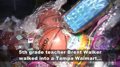 Teacher spends all night on emotional easter surprise. Kids walk into classroom and can't speak