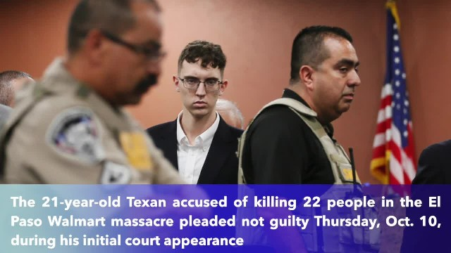 El Paso mass shooting suspect Patrick Crusius pleads not guilty to capital murder