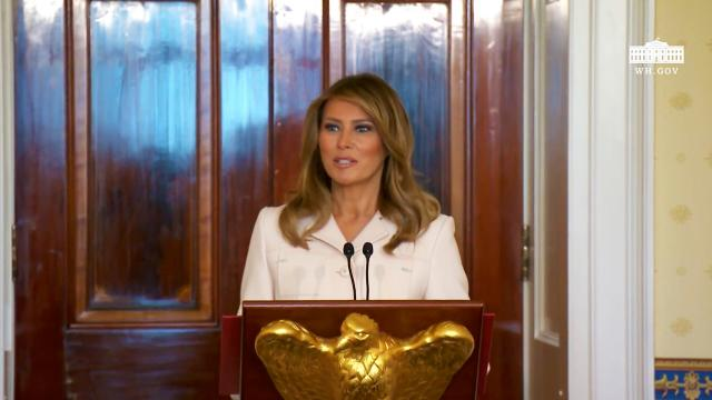 The First Lady hosts the Governors spouses luncheon