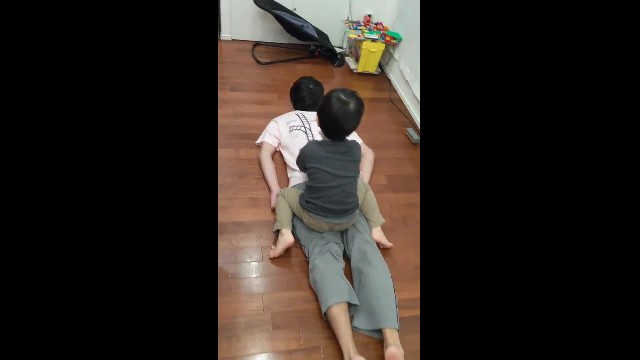 Dad Designs T-Shirts To Trick His Son Into Giving Him Massages