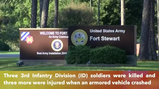 3 3rd Infantry Division soldiers killed, 3 others injured during training accident in Georgia