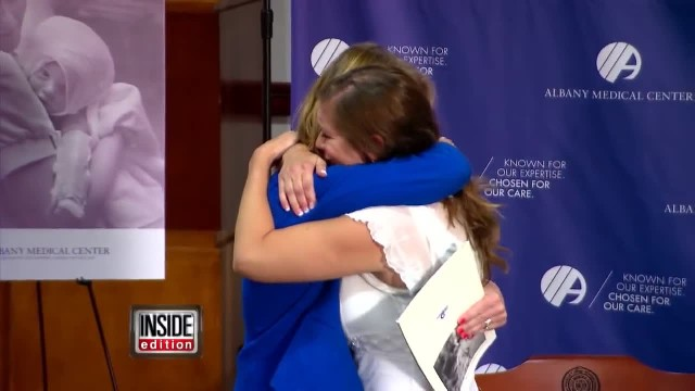 Nurse Has Emotional Reunion with Burn Patient 40 Years Later