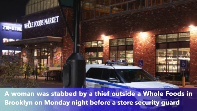 Woman stabbed outside Brooklyn Whole Foods