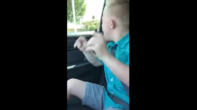 Nine-year-old with Down syndrome tries Whitney Houston classic, goes viral after opening his mouth