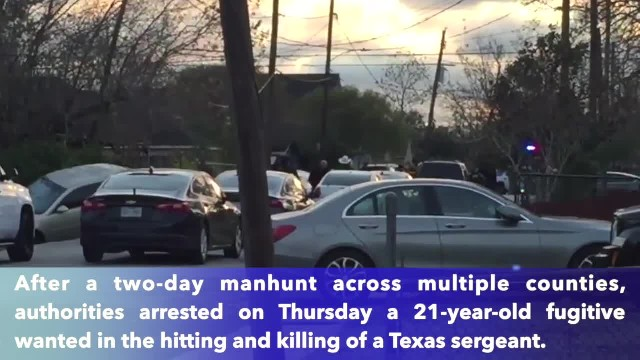 Suspect wanted for murder of Texas officer Kaila Sullivan arrested