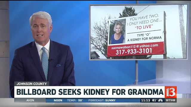 Grandma saves her money to put up a billboard for everyone to see. Now it's going viral