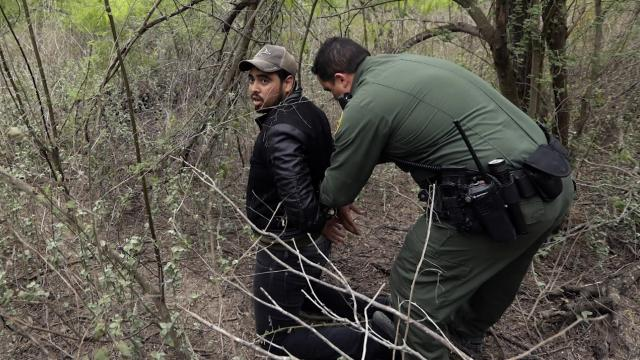 US Customs and Border Patrol reports they have reached a breaking point