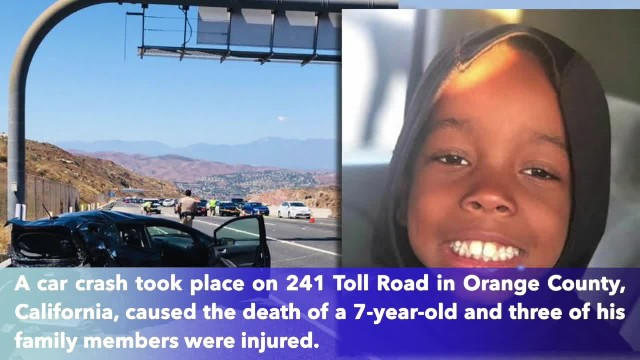 California family mourns as 7-year-old killed after van strikes stalled car