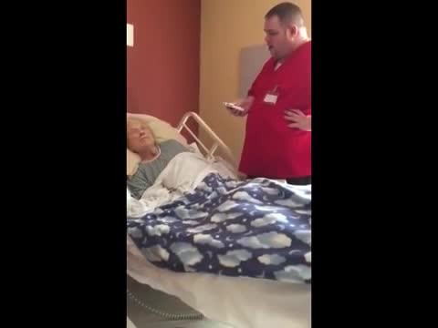 Patient Whispers One Final Wish To Her Nurse Before Her Passing. He Grabs A Device And Grants It