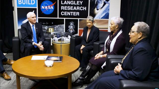 Vice President Mike Pence tours NASA's Langley research center