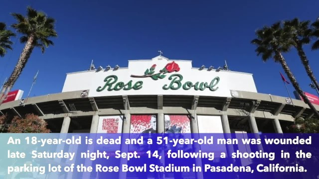 18-year-old man killed, another wounded in Rose Bowl parking lot shooting after UCLA-Oklahoma game