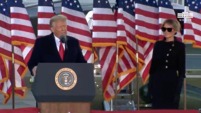 President Donald J. Trump departure ceremony
