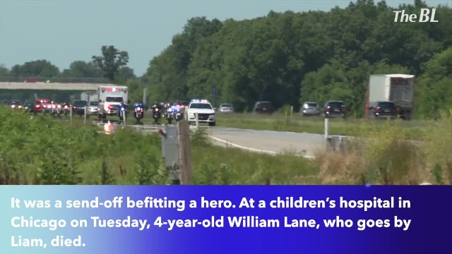 Following death, 4-year-old Elkhart boy gets special escort back home