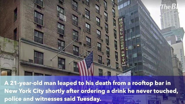 Man jumps to death after ordering drink at Manhattan rooftop bar