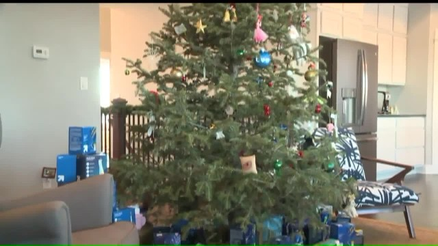 7-yr-old put dozens of tampons under Christmas tree and mom learns they're for women in despair