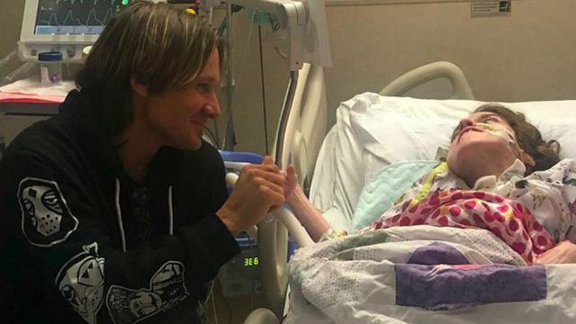 Keith Urban Makes Unannounced Visit To Hospital To Meet Terminally Ill Fan