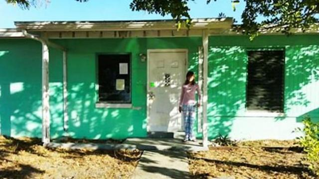 She's only 14, but she bought this house for $12,000. Wait until you see it post makeover!