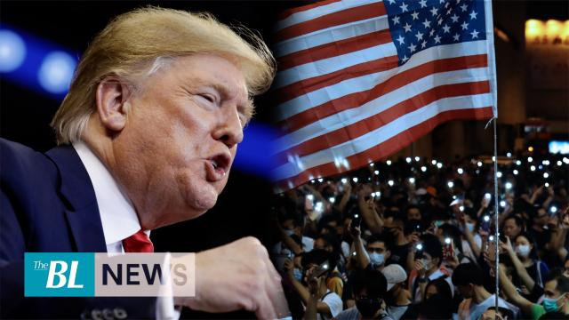 Trump signs bills on Hong Kong human rights