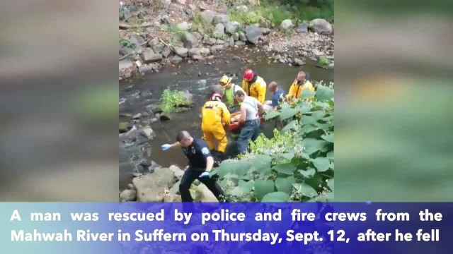 NY Man rescued after falling from bridge, says he was stranded for 3 days
