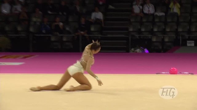 Gymnast Begins Her Routine. Moments Later, Crowd Knows That This Isn't The Average Performance