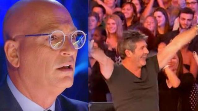 One beautiful woman's unusual talent had Simon jumping out of his chair like never before