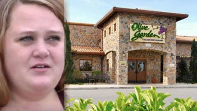 Mom was about to take screaming baby home but is stunned when the server says 'Sit Back Down'
