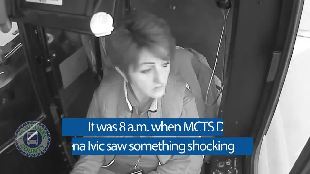 Bus driver spots scene everyone else ignored, and now people are calling her a hero