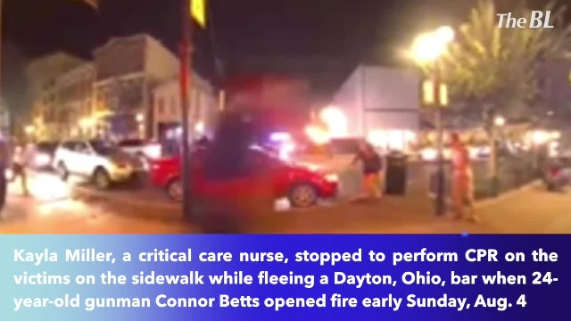 Heroic nurse fleeing Dayton, Ohio shooter stopped to perform CPR on victims