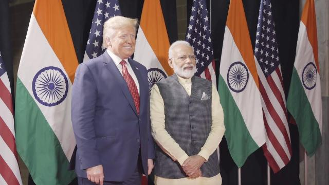 "President Trump Speaks to Thousands at ""Howdy Modi"" in Texas"