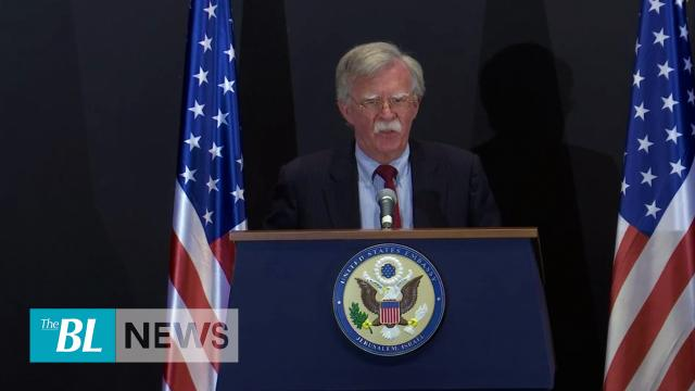 John Bolton Gives Warning to Iranian Regime, Cites Long List of Iran's Threats and Hostilities