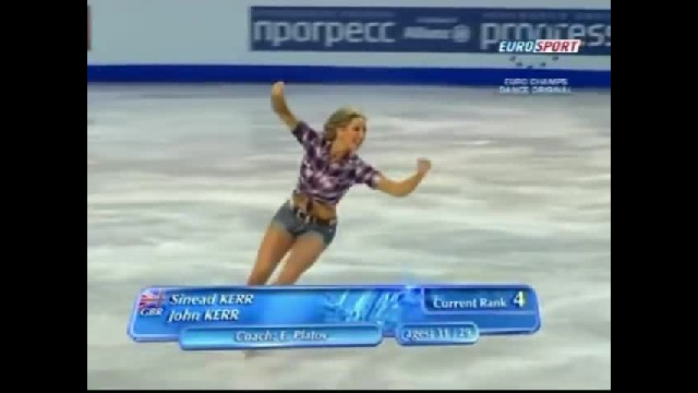 """""""Ice Dancing Siblings' Country Western Routine Takes Crowd Completely By Surprise """""""