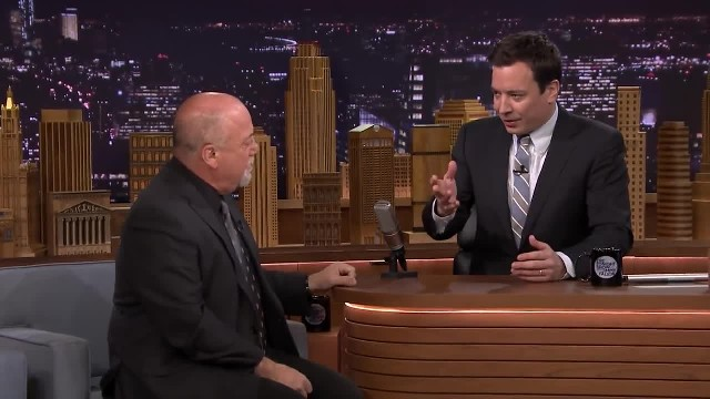 "Jimmy begins singing ""Lion Sleeps Tonight"" with Billy Joel hopping in for epic duet gone viral"