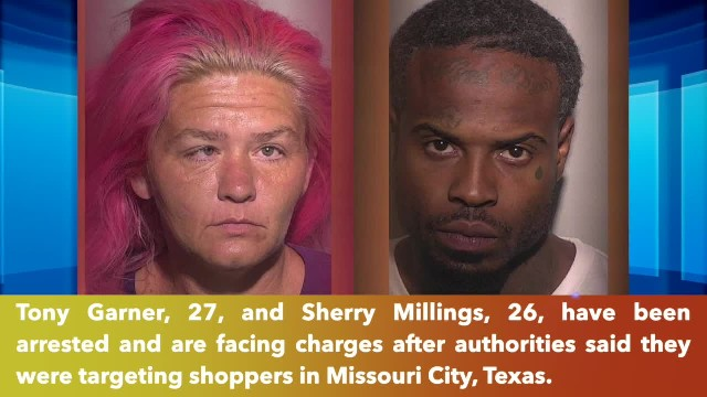 Burglary duo arrested, accused of targeting shoppers in Missouri City, Texas