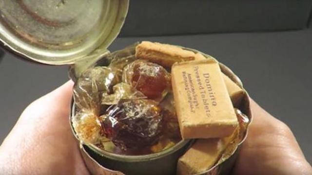 Check out his review of us army field rations from World War II