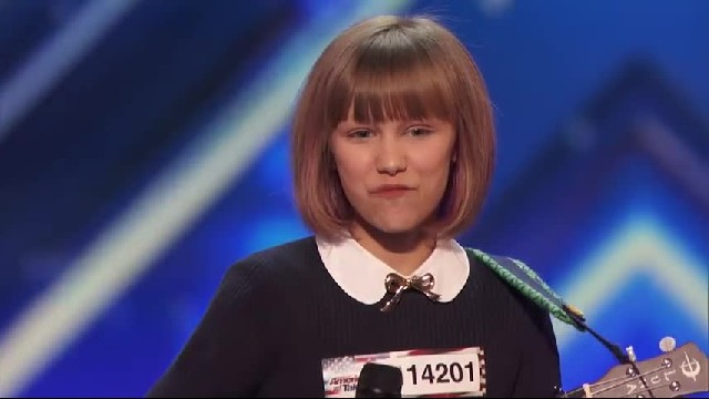 Incredibly talented 12-year-old blows away the jury and gets a fabulous prediction from Simon Cowell
