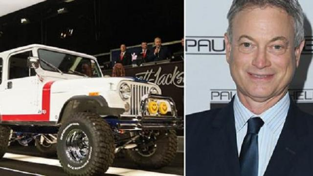 Gary Sinise's custom Jeep auction raises staggering $1.3 million for veterans