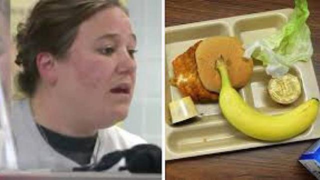 When a student realized a lunchlady was writing a message on their bananas, everything changed
