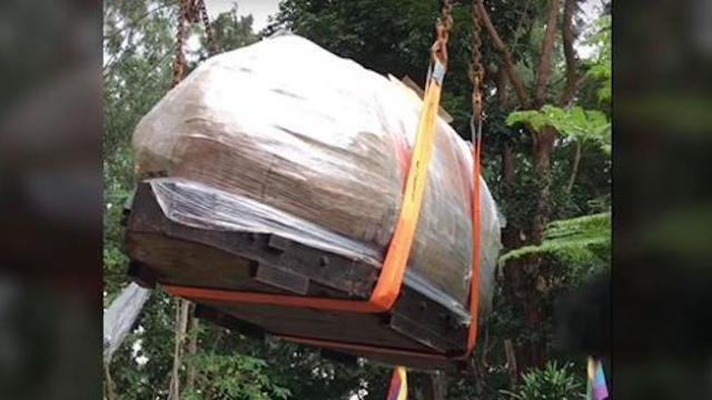 Man transports 20-ton enchanted cave eager to share millions of tiny treasures inside