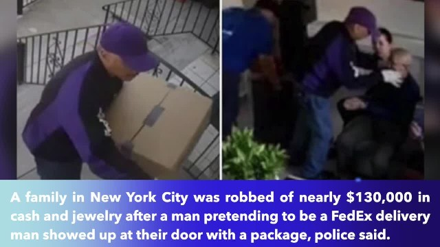 New York family was tied up and robbed $125,000 in cash, jewelry