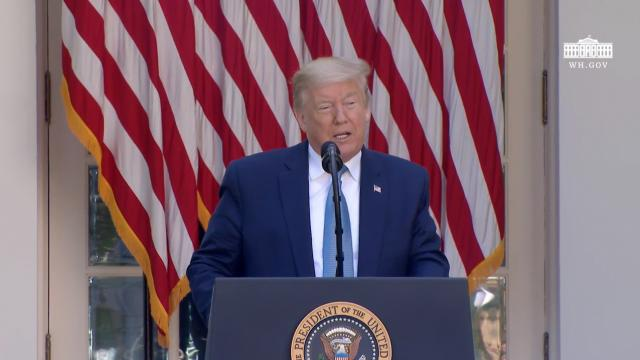 President Trump delivers remarks at a presidential recognition ceremony: Hard work, heroism and hope