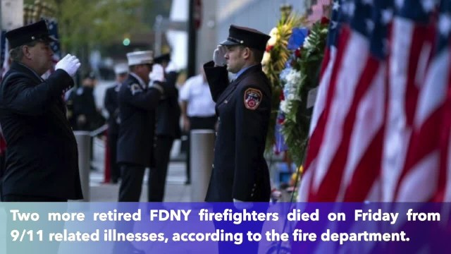 2 more retired FDNY firefighters die from 9:11 related illnesses on same day